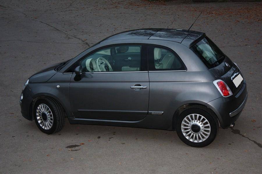 Petite annonce 111471 :  Fiat 500 1.2 Lounge 2010