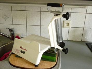 Petite annonce 111507 : trancheuse a fromage manuelle �lectrique inox