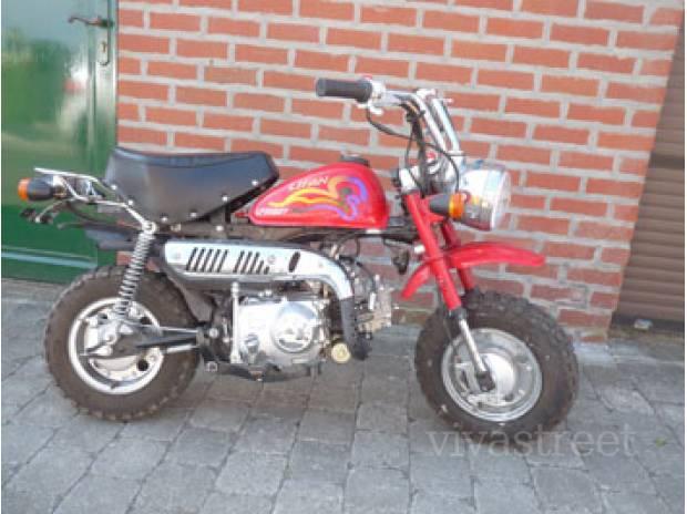 Petite annonce 111515 : mini moto dirt bike 50 cc lifan lf soqgy , Moteur 4 temps 50cc ,