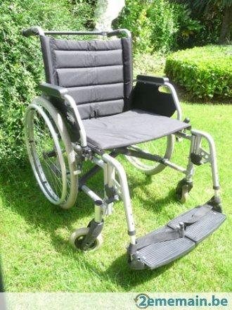 Petite annonce 111870 :  chaise roulante eclipse xxl assise 55 cm repliable pour le transport