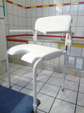 Petite annonce 112288 :  chaise de douche assise 50 cm