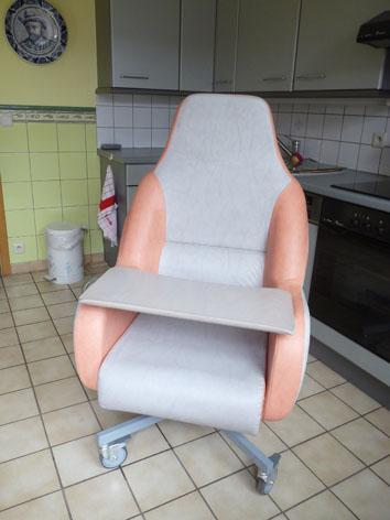 Petite annonce 112543 :   fauteuil coquille grand confort anatomique