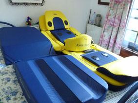 Petite annonce 113549 :   matelas de massage par andulation hhp , cause d�c�s