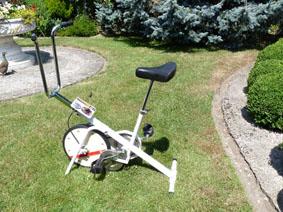Petite annonce 113765 :   v�lo d'appartement prof.care avec roue d'inertie 8 kg ( 8 positions )
